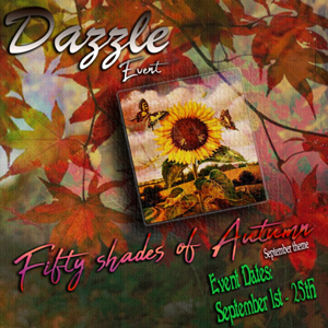 Dazzle Event - Fifty Shades of Autumn