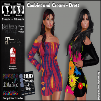D!vine Style - Cookie and Cream - Dress [Exclusive]