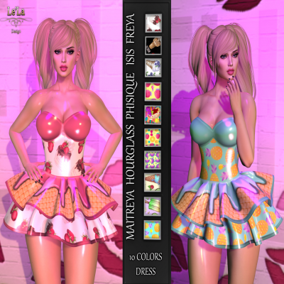 {Le'La} IceCream Dress ~ Dazzle June