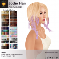 Alli & Ali - Jodie Hair - Variety Colors