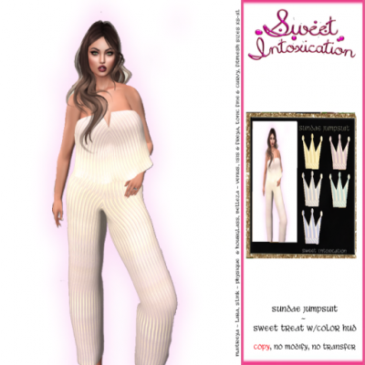 Sweet Intoxicatin - Sundae Jumpsuit - Fat Pack