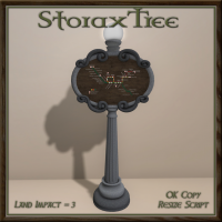 Image of Storax Tree - Train Depot Sign