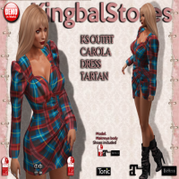Image of Kingbal Stores - Outfit Carola Dress Tartan