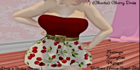 Image of {Chaotic} Cherry Dress
