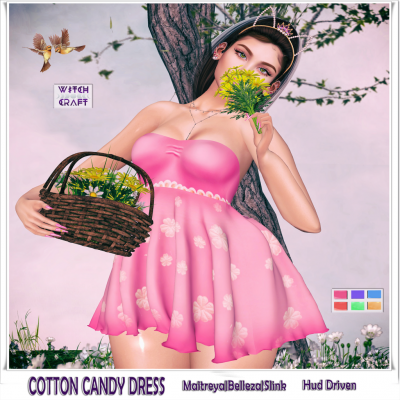 {WitchCraft} Cotton Candy Dress