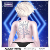 {WitchCraft} Azzura Tattoo