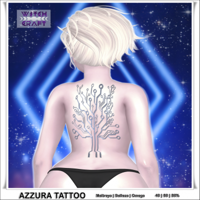 Image of {WitchCraft} Azzura Tattoo