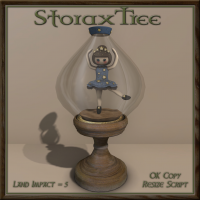 Image of Storax Tree - Antique Ballet Doll