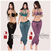 Image of Ava Design - Maryam BellyDance Outfit