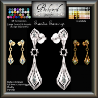 Image of Beloved Jewelry - Randia Earrings