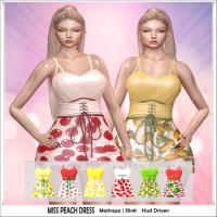 Image of {WitchCraft} Miss Peach Dress