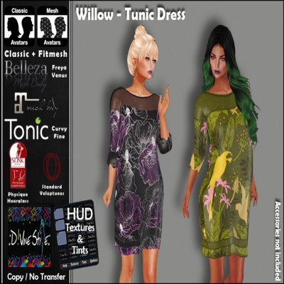 Image of D!vine Style - Willow - Tunic Dress