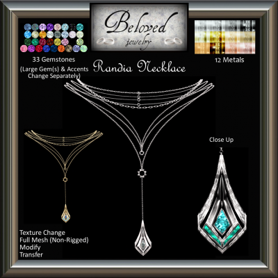 Image of Beloved Jewelry - Randia Necklace