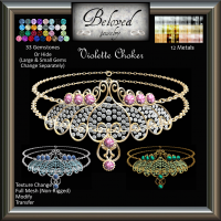 Beloved Jewelry - Violette Choker (Texture Change)