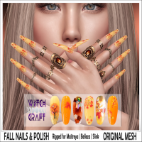{WitchCraft} Fall Nails & Polish