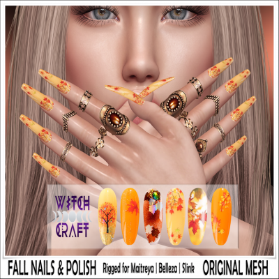 Image of {WitchCraft} Fall Nails & Polish