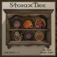 Image of StoraxTree - Antique Plate Display Shelf