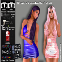 :: D!vine Style :: Titania - Scrunched bust dress