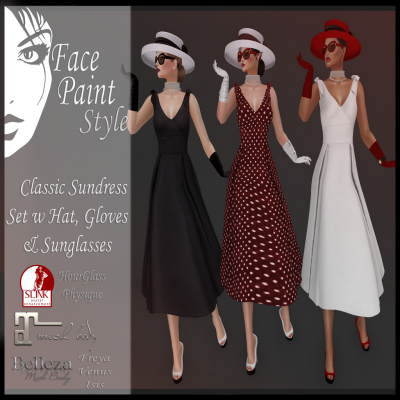 Image of Face Paint - Classic Sundress