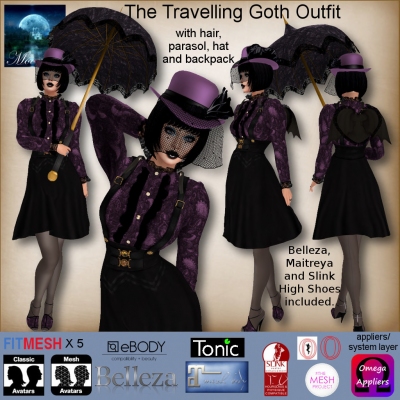 Image of Moonstar - The Traveling Got Outfit