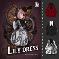 Image of Dark & White - Lily Dress (Exclusive)