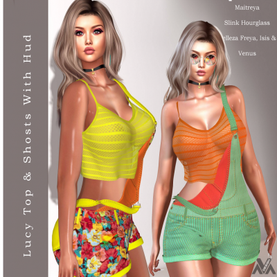 aVa Design - Lucy Top & Shorts