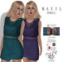 Image of Prism Mayil Mini Dress and HUD by Jezzixa in JEWELS