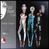 Image of Face Paint - Dellan Jumper