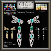 Image of Beloved Jewelry : Uncinia Earrings (Texture Change)