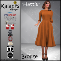Image of Kalani's Designs - Hattie - Bronze