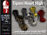 Image of :: D!vine Style :: Tigress Heart Boots