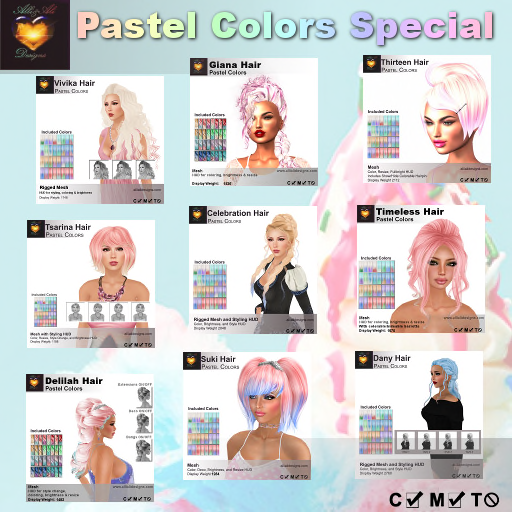 Alli & Ali - Pastel Colors Special Package