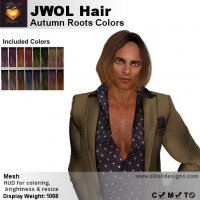 Image of A&A JWOL Hair Autumn Roots Colors