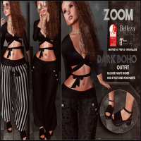 Image of zOOm - Dark Boho Outfit