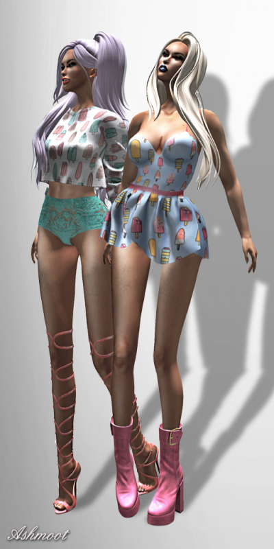 Image of AsHmOoT - Collection Icecreams Outfits