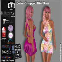 Image of D!vine Style - Baila - Strapped Mini [Exclusive]