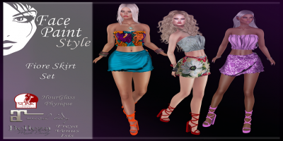 Face Paint - Syle Fiore Skirt Set